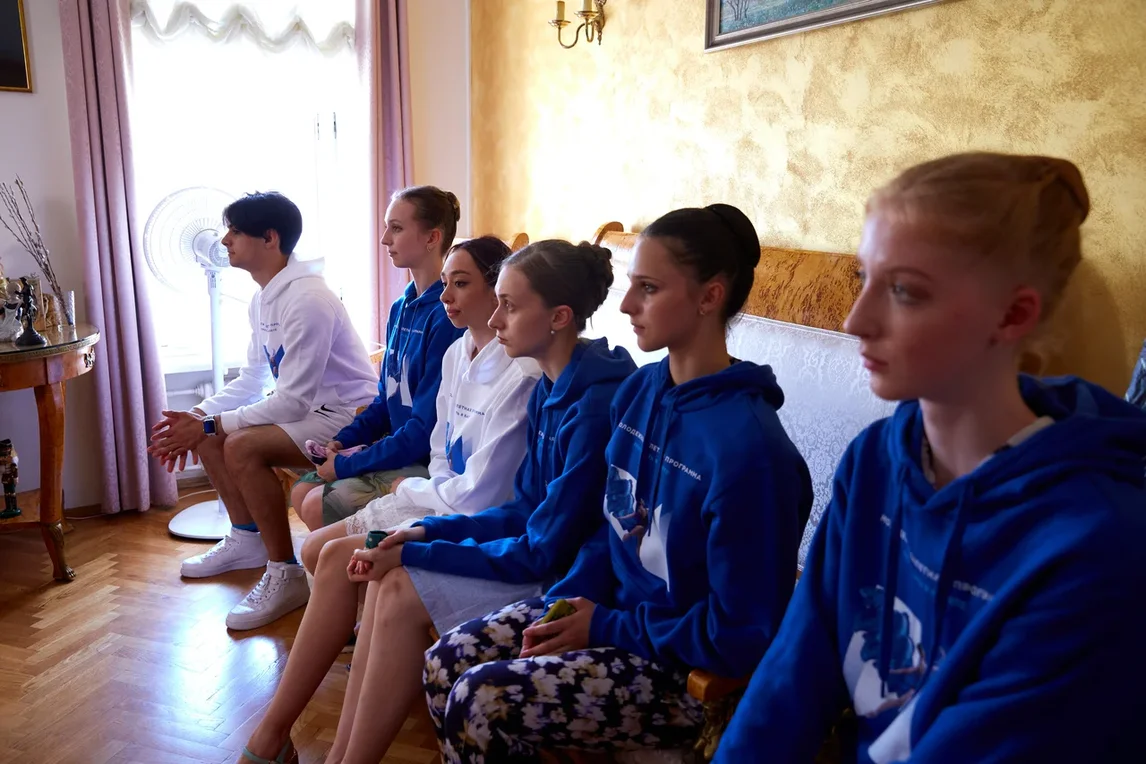 The Second Intramural Audition for the Young Artists Ballet Program of the Bolshoi Theater